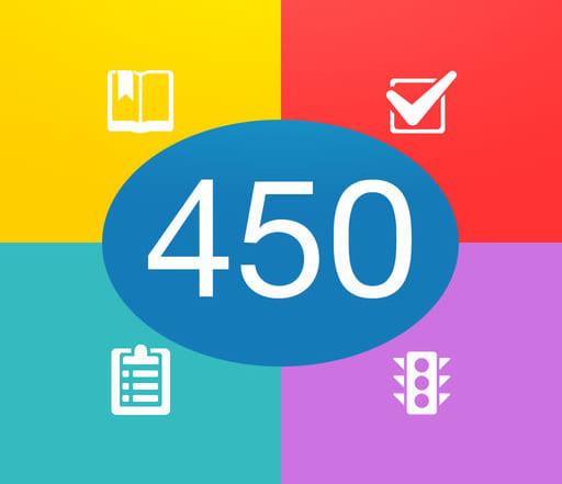 Hướng dẫn làm 450 câu hỏi lý thuyết sát hạch ô tô